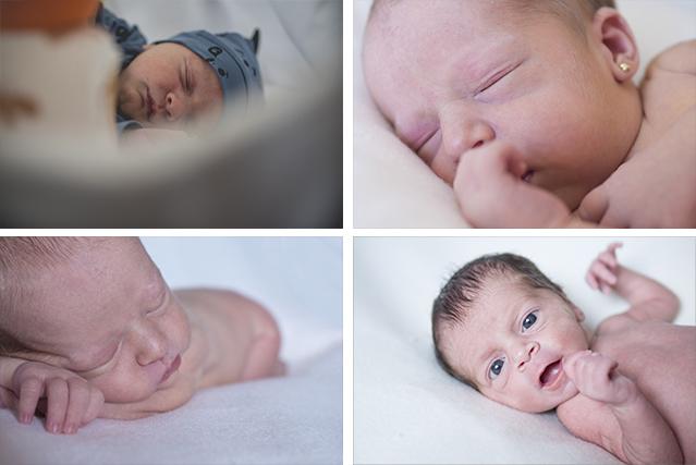 sesión fotografica recién nacido en León
