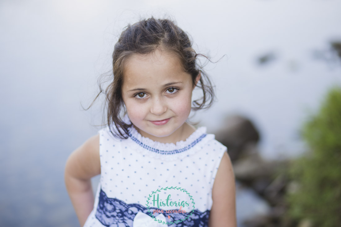 Fotografía de niños en Asturias