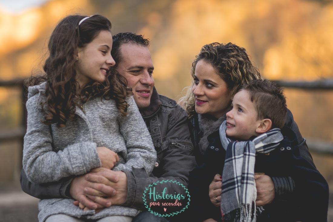 Reportaje Fotografía de Familia en León