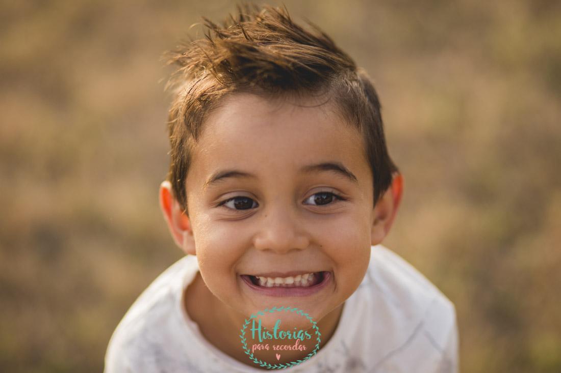 Reportaje fotografía infantil León