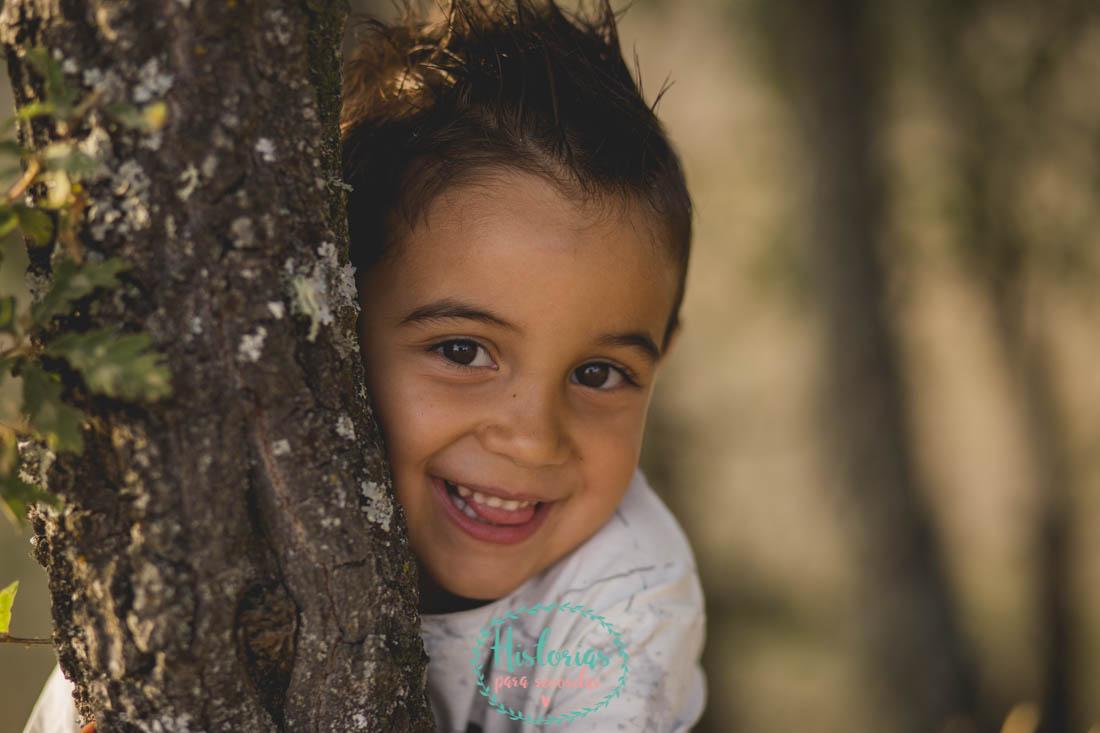 Reportaje fotografía infantil