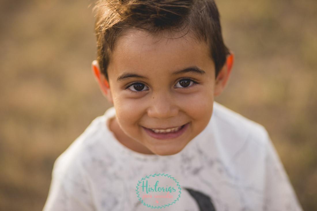 Reportaje fotografía infantil en León