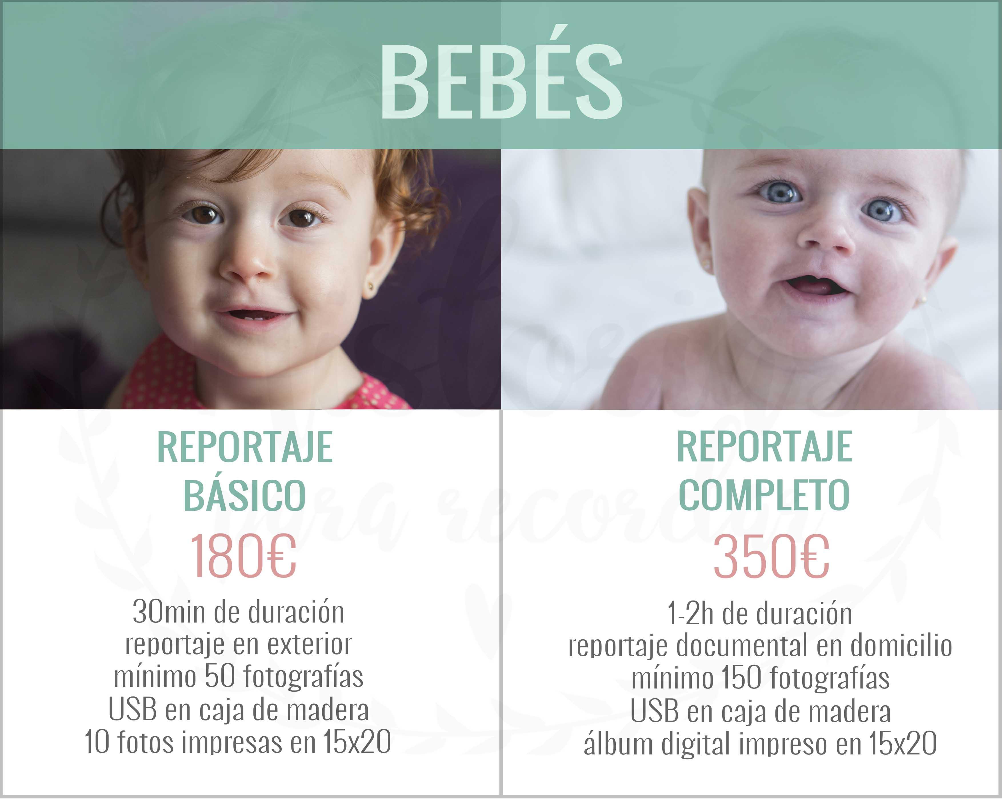 Sesión de fotos de bebés en León