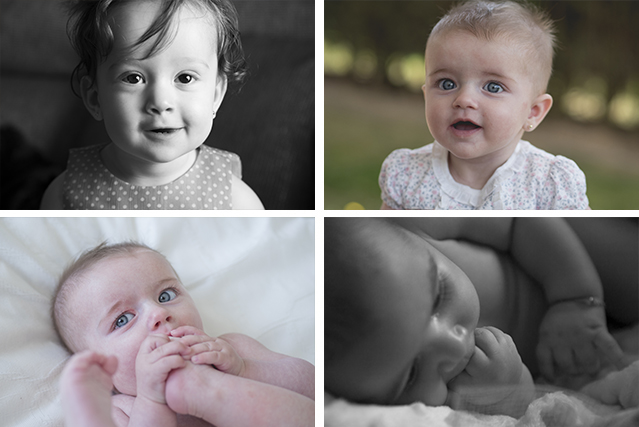 Sesión de fotos de bebes en León