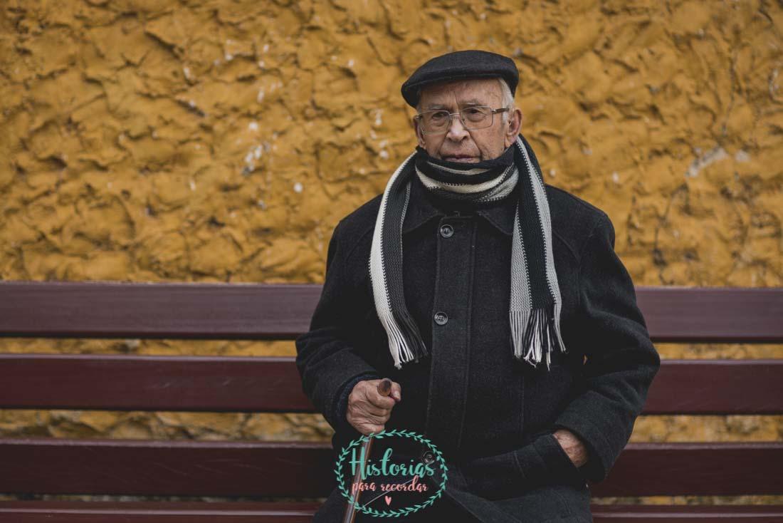 Sesión de Fotos de Abuelos Asturias