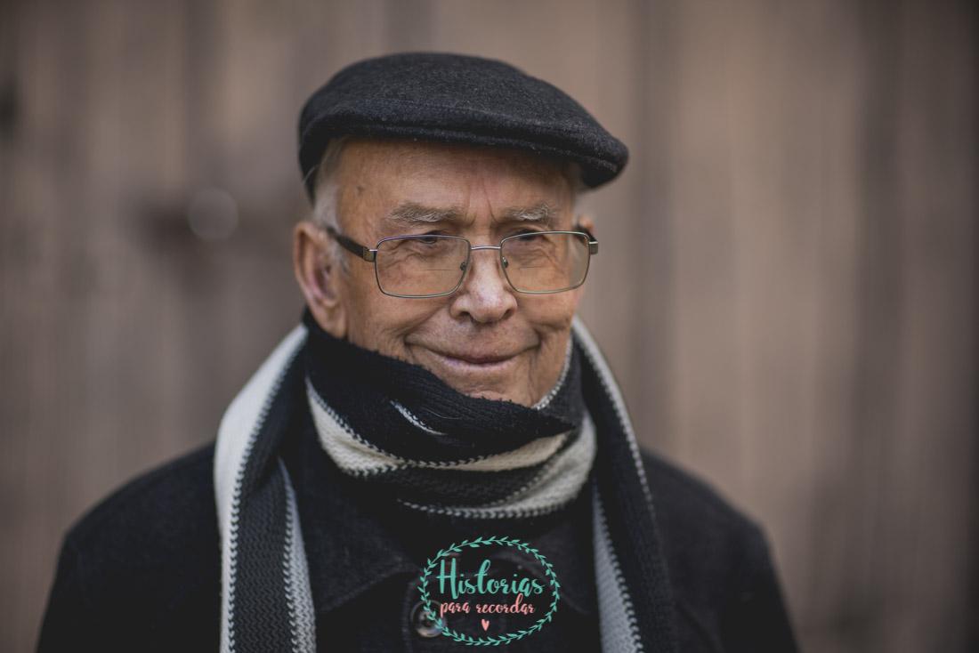 Sesión de Fotos de Abuelos en Asturias